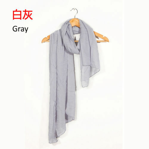 fashion women/'s long candy cotton Scarf Wrap Girls Summer Shawl scarves stole /&