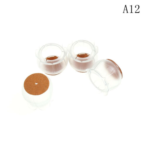 4X Chair Leg Cap Silicon Rubber Feet Floor Protector Pad Furniture Table IJ