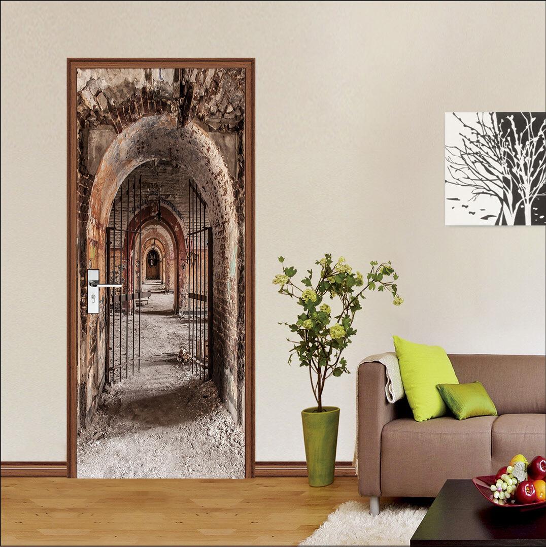 3D Der Bogen 734 Tür Wandmalerei Wandaufkleber Aufkleber AJ WALLPAPER DE Kyra