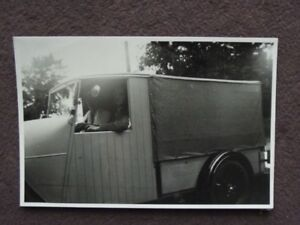 3d7f16f620 Image is loading UNUSUAL-LOOKING-DELIVERY-TRUCK-WOOD-DOORS-Vintage-1930-