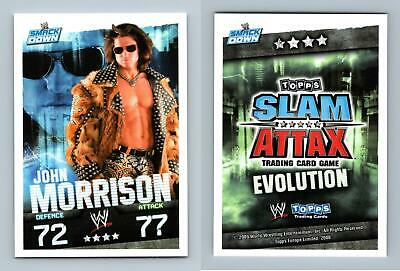 Topps WWE Slam Attax Mayhem John Morrison #70