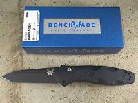 Benchmade Barrage 583bk Knife Osborne Design Tanto Blade Assist Bk Coated Blade