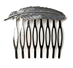 Feather Hair Comb Superior Materials Health & Beauty
