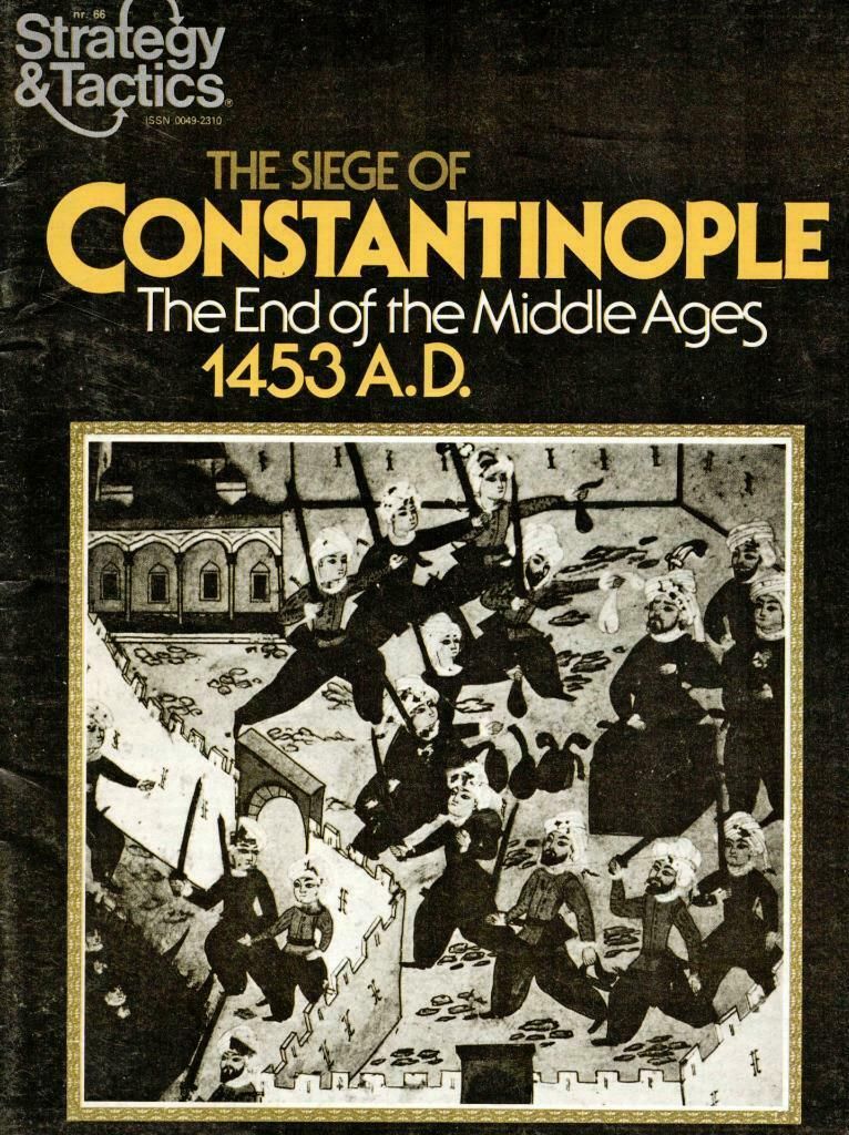 Strategy & Tactics 66, S&T, Siege of Constantinople, Unpunched, Variant Counters