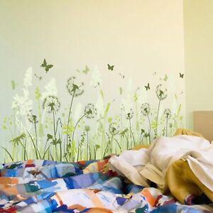 Wandtattoo-Pusteblume-Loewenzahn-Wandaufkleber-Blume-Wandsticker-Deko-Wiese-Pg
