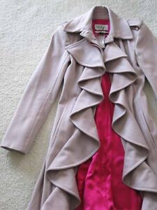 7f7fdf4a2b5 Tom Ford for Yves Saint Laurent Dusty Rose Wool Ruffle Hot Pink ...