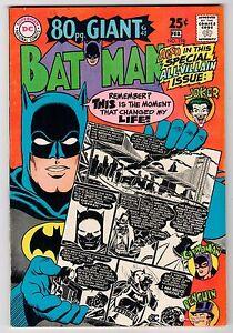 DC BATMAN #198 - Feb 1968 Vintage Comic