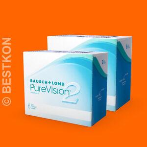 BAUSCH-amp-LOMB-PURE-VISION-2-HD-2-x-6-Kontaktlinsen