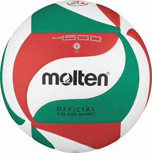 Molten volley DVV 2 wettspielball blanc/vert/rouge v5m4500 taille 5