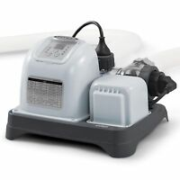 Intex 120v Krystal Clear Saltwater System Swimming Pool Chlorinator   28667eg on sale