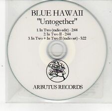(DS680) Blue Hawaii, Untogether - 2012 unopened DJ CD