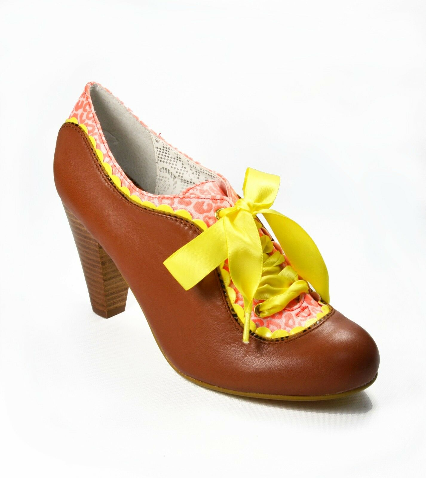 grandes ahorros Licencia Licencia Licencia poética Mujeres Zapatos Cuero Marrón Tabaco Botín contragolpe elige un tamaño  el mas de moda