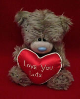 Me To You Bear Tatty Teddy 6 Love You Lots Red Satin Heart Bear Gift
