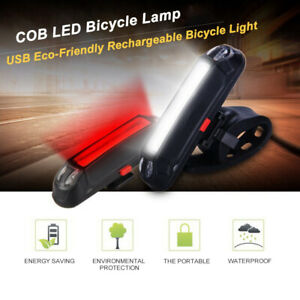 Rechargeable-COB-LED-Bicycle-Bike-Cycling-Rear-Tail-Lamp-USB-Light