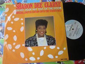 Sharon-Dee-Clarke-Dance-Your-Way-Out-Of-The-Door-22682-Vinyl-12inch-Maxi-Single