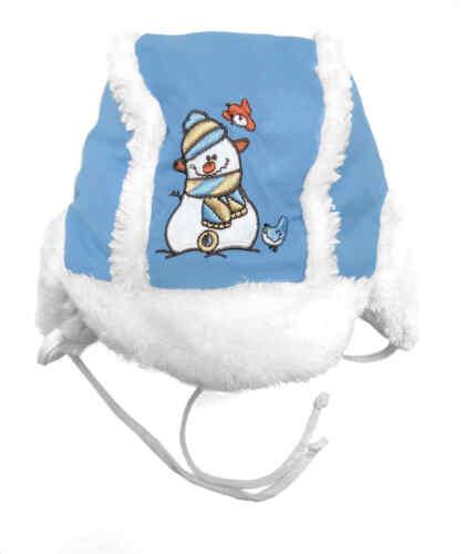 Baby Mütze Teddyplüsch Wattiert Warm Herbst Winter Jungen Schirmmütze Kinder