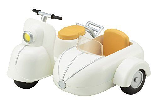 Cu-poche Extra Motorcycles & Sidecar (Milk Weiß) Figure NEW from Japan