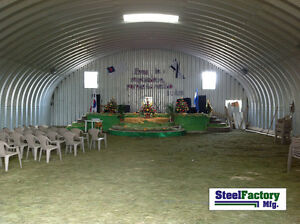 Details about Steel Factory S30x30x14 Metal Storage Building Horse Barn  Prefab Arch Panel Kit