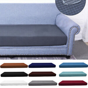 Details about 1 4 Seats Sofa Seat Cushion Covers Fabric Stretchy Couch Protector Waterproof