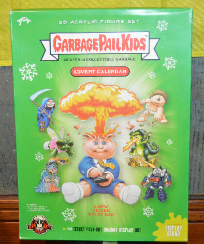Garbage Pail Kids Advent Calendar PI-07-2020-PTF050558 25 Acrylic Figures