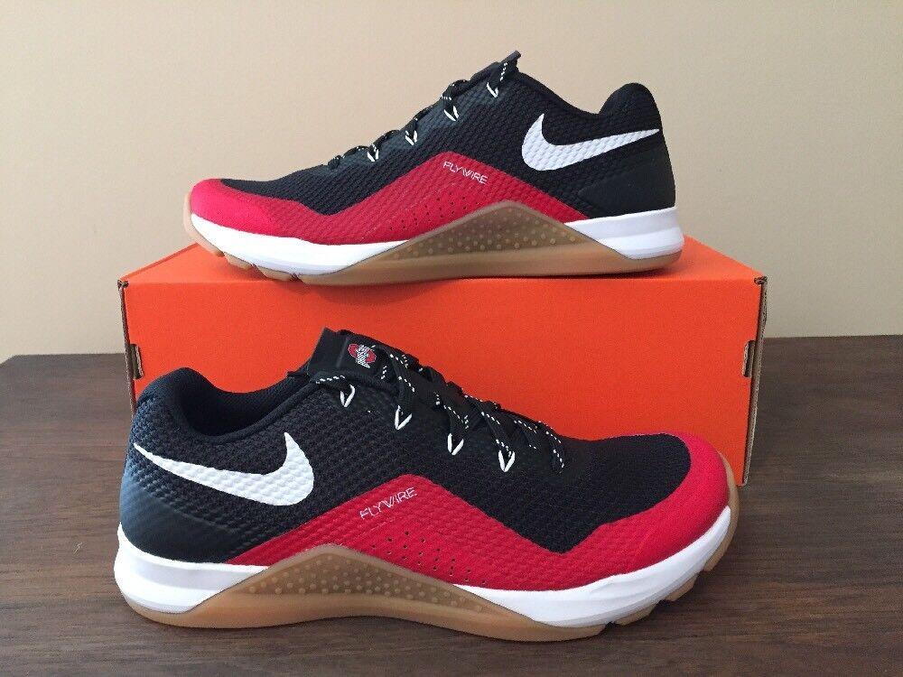 Men's Nike Metcon Repper DSX College Ohio State Training Shoes Sz 8 921215 001