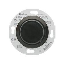Universal Drehdimmer BERKER Typ 283411 mit Zentralstück schwarz glänzend