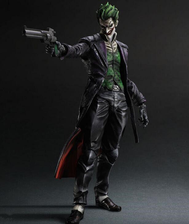 DC PLAY ARTS KAI THE JOKER BATMAN ARKHAM ORIGIN ACTION FIGURES TOY