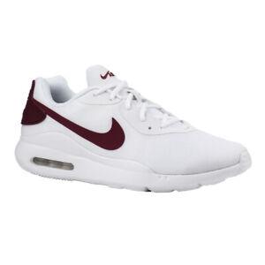 Details zu Nike Air Max Oketo AQ2235 101 Herren Sneakers Turnschuhe Schuhe Weiß Rot