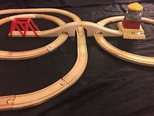 34 P. Thomas the Train Sodor Water 💦 Tower & Bridge Tracks Set