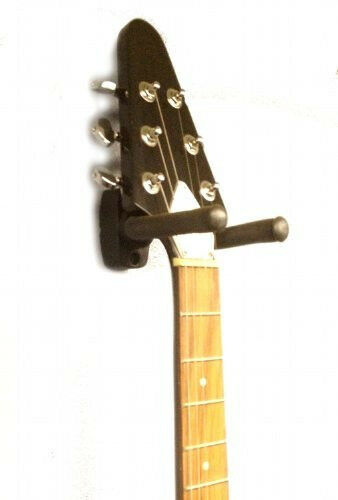 3-pack Guitar Bass Banjo Violin Mandolin Hanger Hook Holder Wall Mount Display