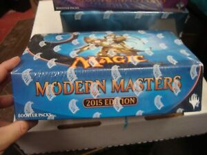 NEW MTG Magic The Gathering 2015 MODERN MASTERS 2015 Booster Box New Sealed!