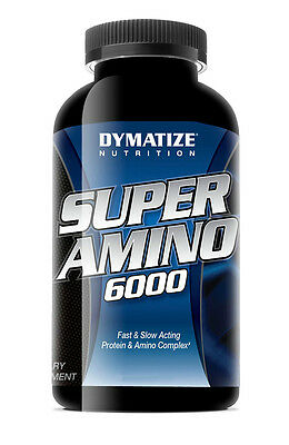 Dymatize Nutrition - SUPER AMINO ACIDS 6000 - 180 CAPS - Sport Supplement