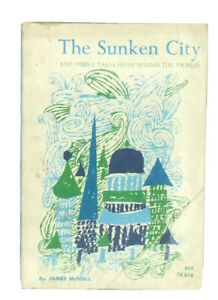 THE SUNKEN CITY BY JAMES McNEILL 1964 Vintage Paperback Scholastic TX 616
