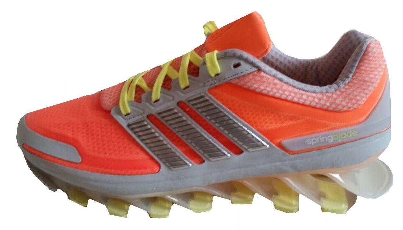 adidas Damen Springblade Laufschuhe d66233 orange / silber UK 4.5-6.5