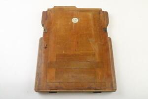 Planfilm Kassette aus Holz - 18x24cm