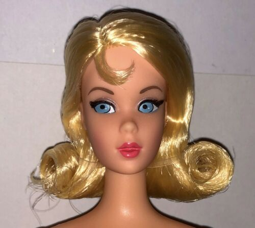 Barbie 1968 Vintage Repro Mod Friends Set NUDE TNT Lemon Blonde Marlo Doll NEW