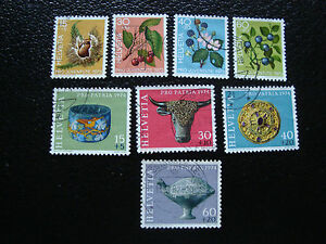Switzerland-Stamp-yt-N-943-A-946-961-A-964-Obl-A19-Stamp-Switzerland