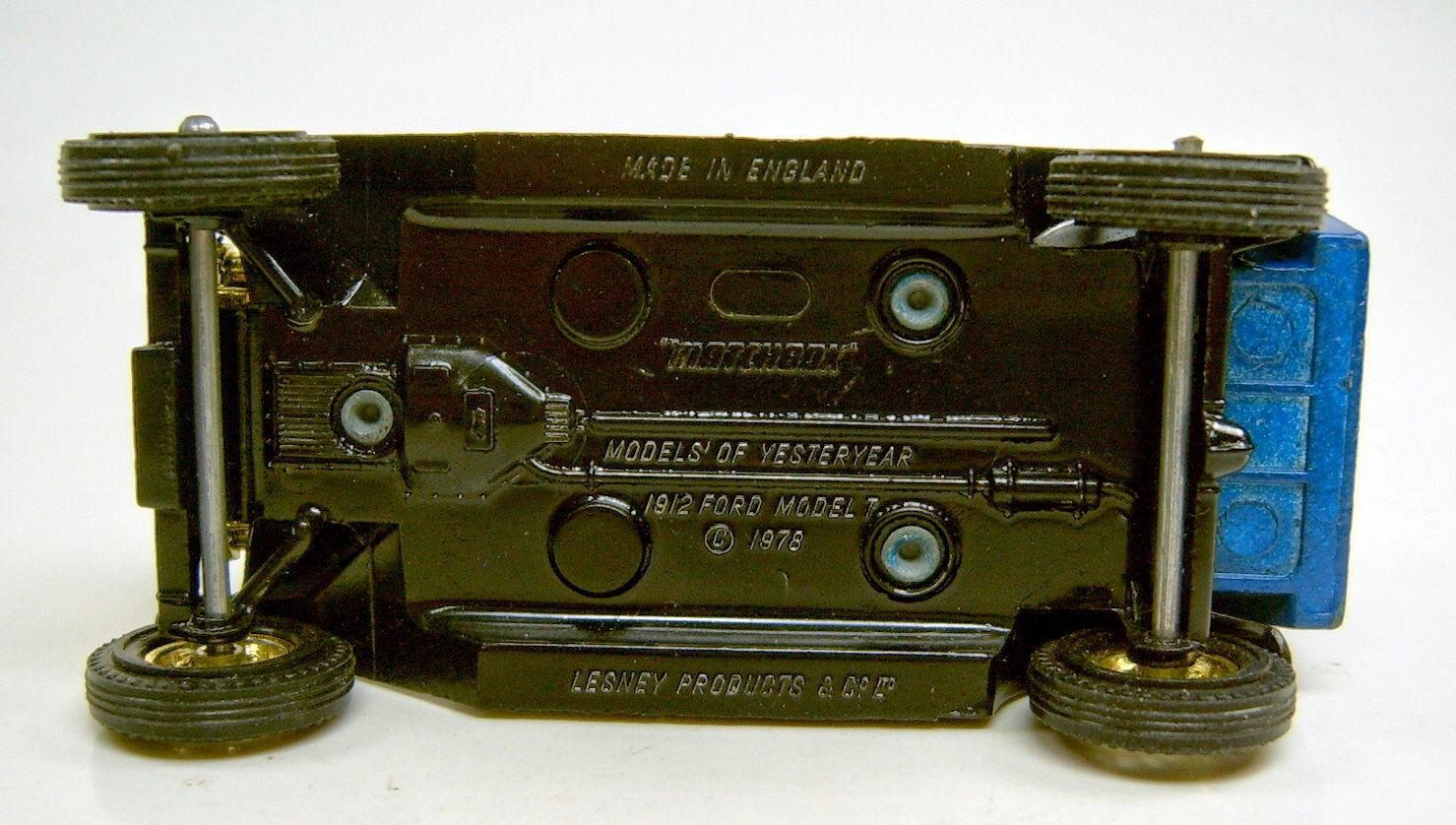 Matchbox models of Yesteryear y-12c y-12c y-12c Ford Model