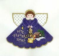 Night Before Christmas Angel & Stitch Guide Hp Ornament By Painted Pony