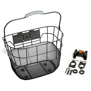 Detachable Bicycle Bike Basket Holder Front Handlebar Cycling Storage Carrier