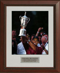 Tiger-Woods-2002-US-Open-Trophy-Bethpage-Framed-Photo-11x14-OR-16x20