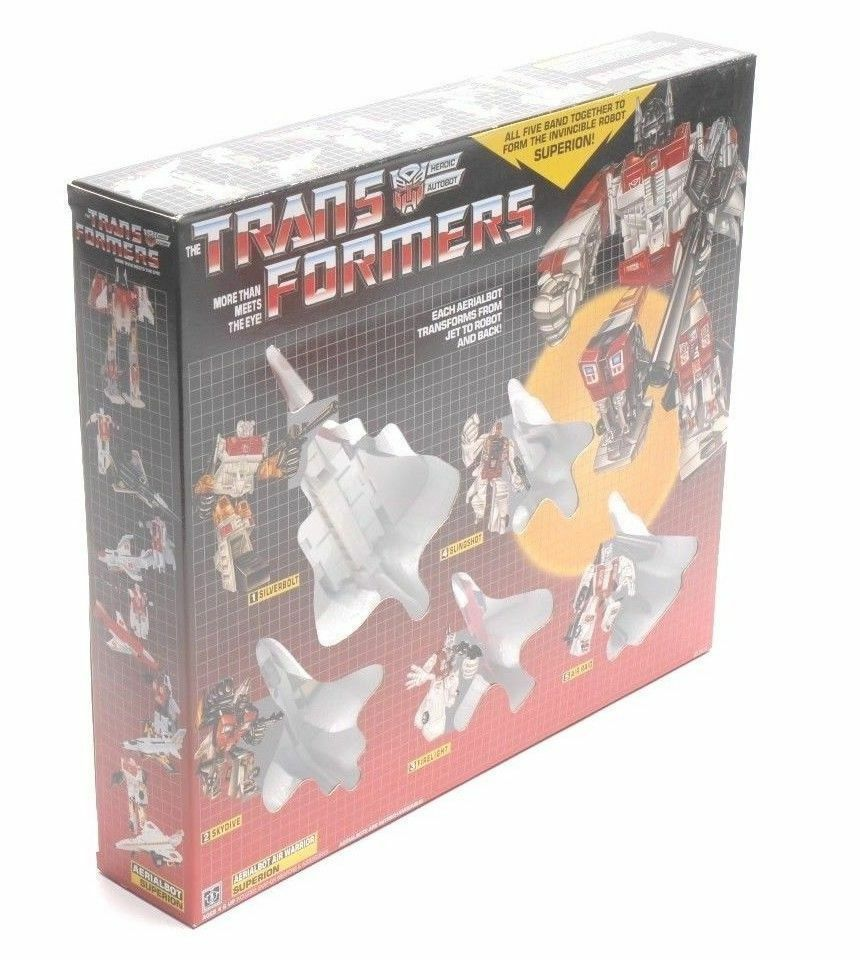 Transformers G1 SUPERION Aerialbots Gift Christmas Action Figure Kids Toys Hot