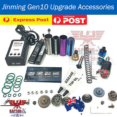 Upgrade Gearbox Ladder Piston Air Cylinder Head For Jinming Gen8 J9 J10 M4A1 ACR
