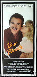 BEST-FRIENDS-Goldie-Hawn-Burt-Reynolds-VINTAGE-Original-Daybill-Movie-Poster