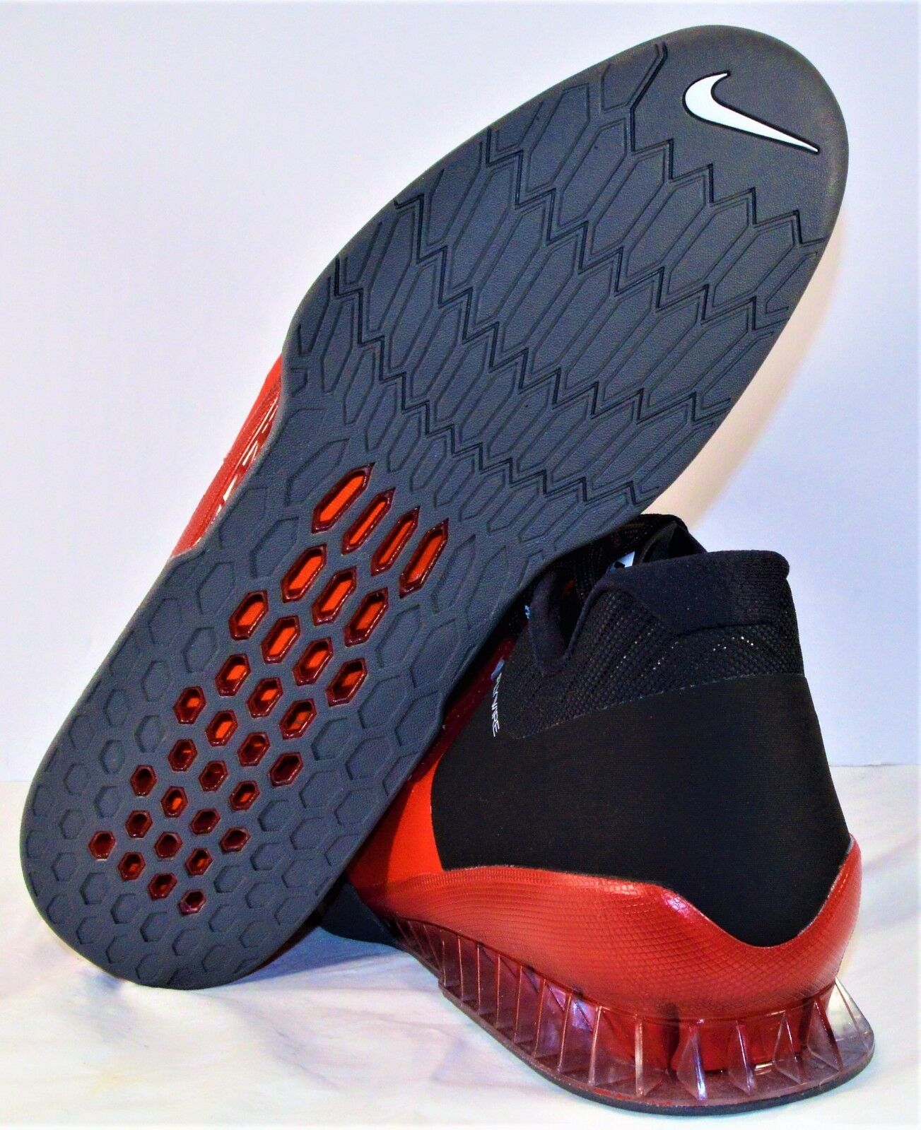 cb62a36fccf73 ... Nike Romaleos 3 Red       Black Training Weightlifting shoes Sz 15 NEW  852933 600