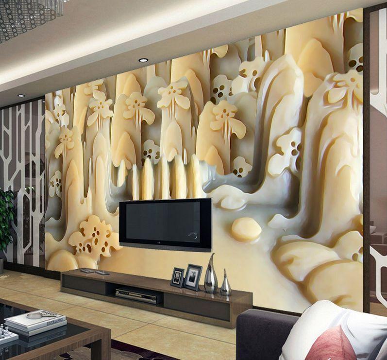 3D Jade - kunstwerke 2023 Fototapeten Wandbild Fototapete BildTapete Familie