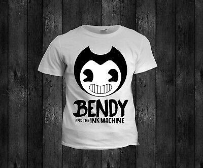 Kids bendy cartoon boys girls christmas t shirt tshirt xmas 5