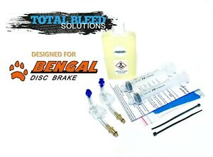 DOT or Mineral Fluid * TBS Hayes Hydraulic Brakes Bleed Kit *