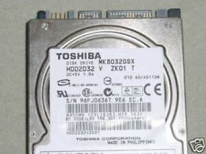 TOSHIBA MK8032GSX WINDOWS VISTA DRIVER DOWNLOAD
