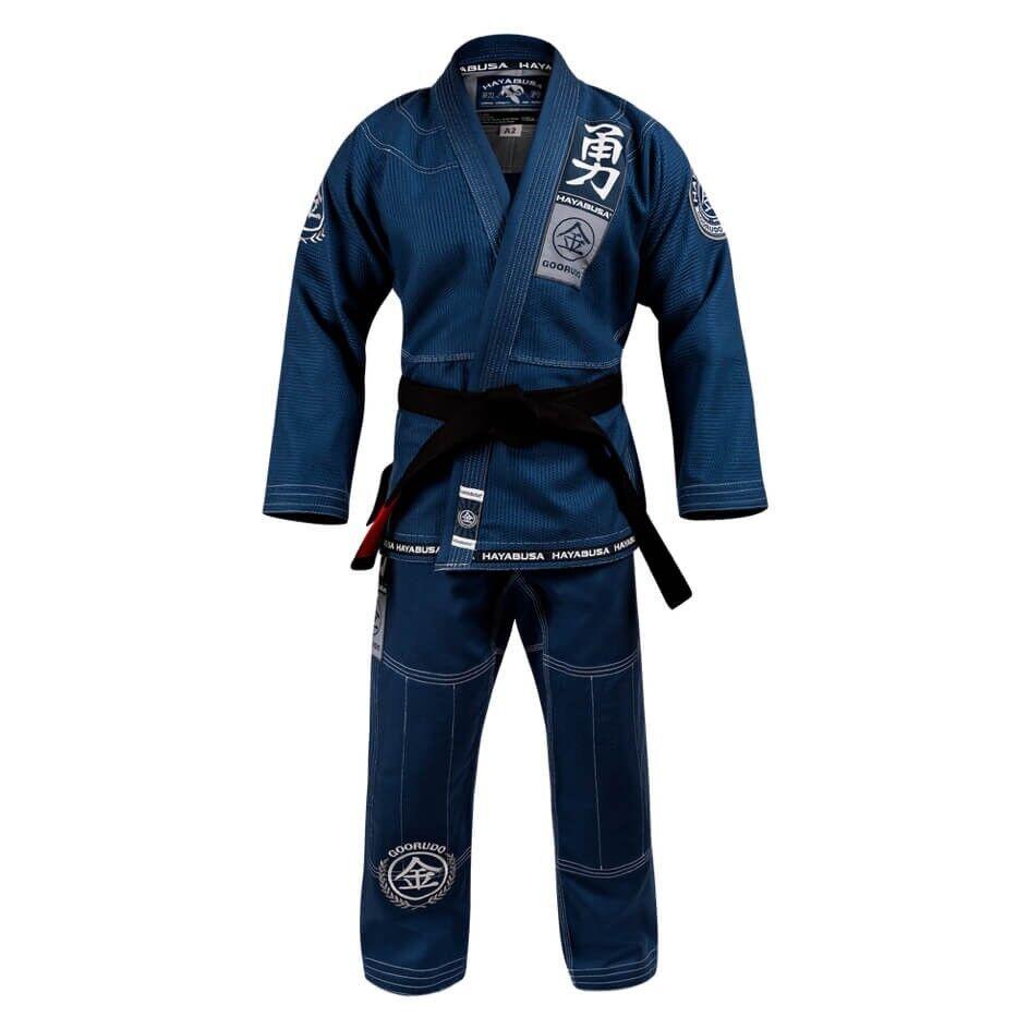 Hayabusa Goorudo 3 BJJ Gi gold Weave Jiu Jitsu Suit Mens Uniform Adults Kimono